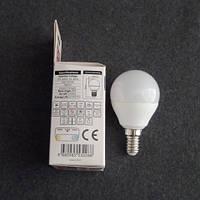 Лампа светодиодная LED 6W E14 4200K шарик KODE:534061