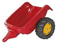 Прицеп на 2-х колесах Rolly Toys rollyKid Trailer красный