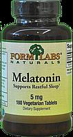 Form Labs Naturals Melatonin 5mg 180 сaps