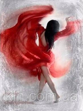 """Алмазная вышивка Страстный танец 30 х 40 см (арт. FS360) серия картин """"Чувства"""""""