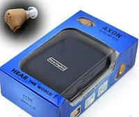 Слуховой аппарат внутриушной аккумуляторный AXON K-88 с зарядкой