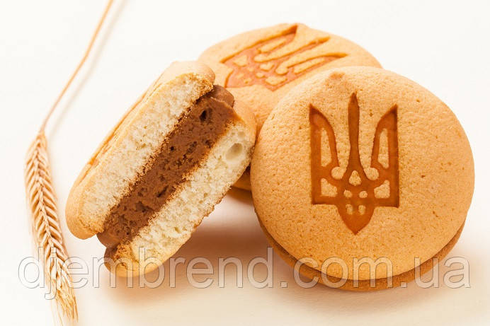 """Печенье бисквитное """"Патриотическое"""",1,3 кг (44 шт)"""