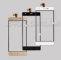 Тачскрин (сенсор) для Nomi i506 Shine телефона, оригинал (черный, белый)