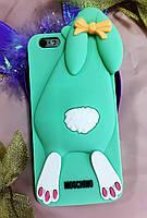 Силіконовий чохол Moschino Violetta Rabbit iPhone 6SPlus/6Plus, зайчик