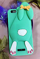 Силиконовый чехол Moschino Violetta Rabbit iPhone 6SPlus/6Plus, зайчик