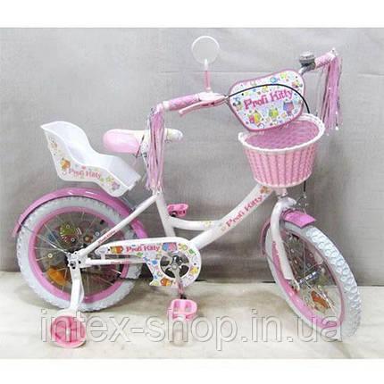 Велосипед детский Profi 18 PK1854G-B Kitty , фото 2