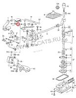 Тяга кулисы КПП VW Seat 191711595