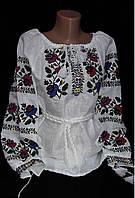 Вышиванка женская на льне, фото 1