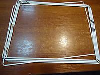 Рамка дисплея для планшета Apple iPad 2 iPad 3 iPad 4 White с самоклейкой