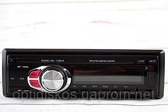 Автомагнитола MP3, 1081А (USB, SDHC, AUX, FM)