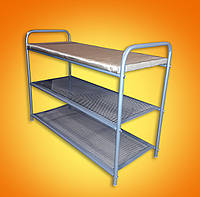 Полка-скамейка для обуви  верх мягкий