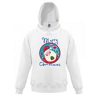 Детская толстовка Счастливого Рождества 3