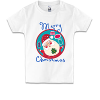 Детская футболка Счастливого Рождества 3