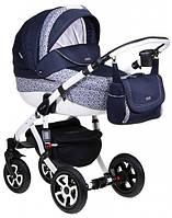 Детская коляска универсальная 2 в 1 Adamex Barletta 989G (Адамекс Барлетта)
