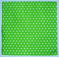 Салфетка для декупажа Зеленые горошки 33*33 см, 1 шт