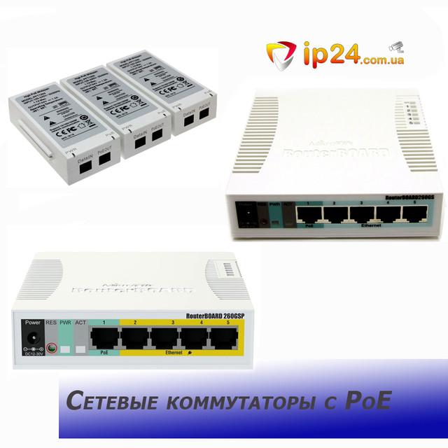 Сетевые коммутаторы c PoE