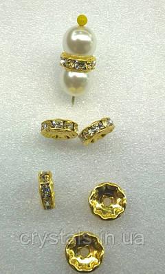 Разделители для бусин Preciosa (Чехия) Crystal
