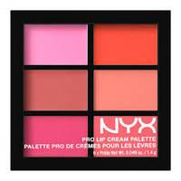 NYX Pro Lip Cream 6 цветов  Помада палетка