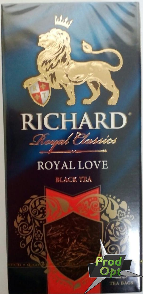 Чай Ричард Роял LOVE 25 пакетів