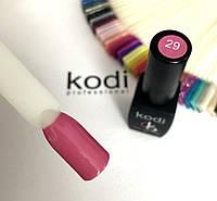 Гель лак kodi professional № 29 (светло-розовый цвет, с перламутром) 8 мл.