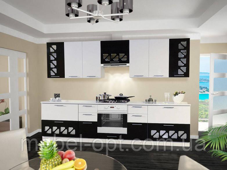 Кухонный гарнитур Нана, возможность сборки стенки поэлементно