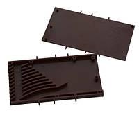Вентиляционно-дренажный элемент 120х60х9 мм коричневый