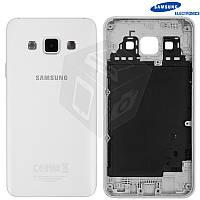 Задняя панель корпуса для Samsung Galaxy A3 A300, белый, оригинал
