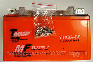 Аккумулятор 12v 8А гелевый ТММР