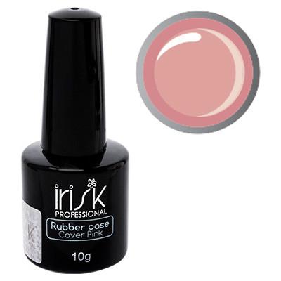 База каучуковая камуфлирующая Rubber Base Cover Pink 10 мл, натурально-розовая, фото 1