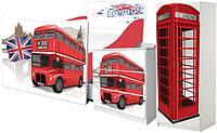 Мебель ЛОНДОН LONDON, кровать ЛОНДОН для мальчика или девочки купить http://кровать-машина.com.ua/ БЕСПЛАТНАЯ ДОСТАВКА! Мебель ЛОНДОН с рисунками в британском стиле под заказ!