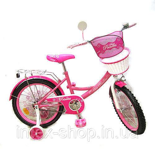 """Двухколесный велосипед Profi Princess 14"""" (PP1451) со звонком"""
