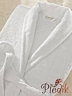 Халат махровый белый Lotus Отель 380 пл. 4XL