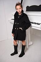 Пальто кашемировое бойфренд для девочки Одри