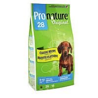 Pronature Original сухой супер премиум корм для щенков средних и малых пород собак, 15 кг