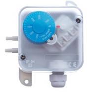 Прессостат PS 1500 диапазон измерения 100-1500 Па, AC 250 В, гистерезис 80 Па, IP54 + монтажный комплект