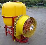 Польский садовый вентиляторный опрыскиватель Wirax 400 л, фото 2