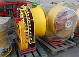 Польский садовый вентиляторный опрыскиватель Wirax 400 л, фото 5