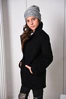 Пальто кашемировое бойфренд для девочки линия Hanneton