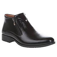 Ботинки мужские Tapi (классический дизайн, фактурная кожа, модные, стильные)
