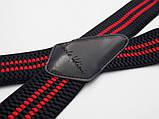 Подтяжки широкие черно-красные Paolo Udini , фото 2