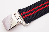 Подтяжки широкие черно-красные Paolo Udini , фото 3