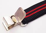 Подтяжки широкие черно-красные Paolo Udini , фото 4