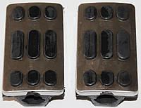 Резинки подножек водителя хром Дельта