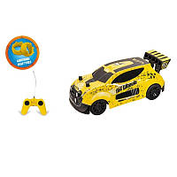 Hot Wheels Машина на р/у маштабом 1:24 Scale 1:24 желтая Fast 4wd Radio Controlled Car MONDO MOTORS