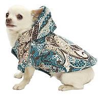 Куртка Peacock стеганая двухсторонняя для собачек 50см Croci C7174248