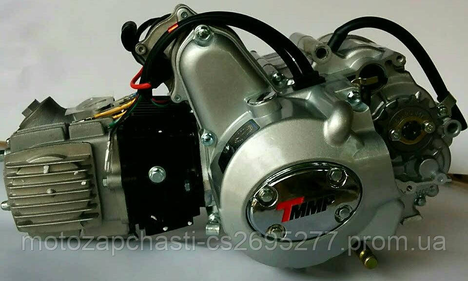 Двигатель Альфа 125 см3 полуавтомат TMMP Racing - Motozapchast интернет-магазин мотозапчастей в Харькове