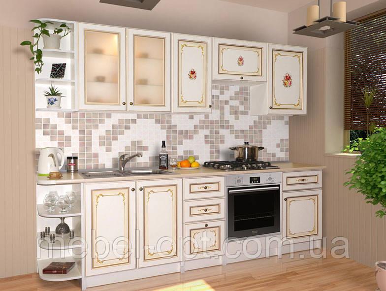 Кухонный гарнитур Парма, возможность сборки стенки поэлементно