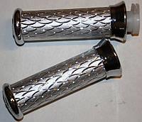 Ручки руля алюминиевые серебро