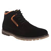Ботинки мужские Zummer (молодежные, замшевые, модные, удобные)