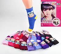 Детские махровые носочки Liza C895 L. В упаковке 12 пар